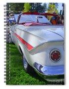1961 Chevrolet Impala Convertible Spiral Notebook