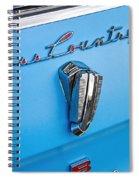 1961 Rambler Cross Country Emblem Spiral Notebook