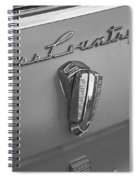 1961 Rambler Emblem B And W Spiral Notebook