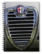 1962 Alfa Romeo Grille Spiral Notebook