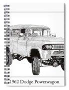 1962 Dodge Powerwagon Spiral Notebook