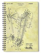 1962 Helicopter Patent Spiral Notebook