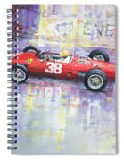 1962 Ricardo Rodriguez Ferrari 156 Spiral Notebook