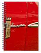 1963 Ford Galaxie 500 Spiral Notebook