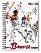 1963 Milwaukee Braves Yearbook Spiral Notebook