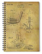 1963 Sand Wedge Patent Spiral Notebook