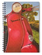 1963 Vespa 50 Spiral Notebook