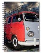 1963 Volkswagen Double Cab Truck Spiral Notebook