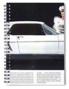 1964 Ford Mustang Muscle Spiral Notebook