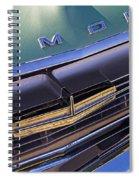 1964 Oldsmobile Jetstar Hood Ornament Spiral Notebook