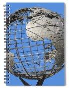 1964 World's Fair Unisphere Spiral Notebook