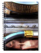 1965 Corvette Engine Digitally Painted Spiral Notebook