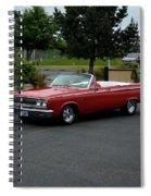 1965 Dodge Coronet 500 Higgins Spiral Notebook