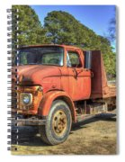 1965 Ford F600 Snub Nose Commercial Truck Spiral Notebook