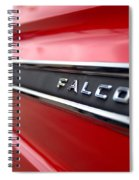 1965 Ford Falcon Name Plate Spiral Notebook