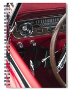 1965 Ford Mustang Fastback Dash Spiral Notebook