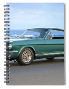 1965 Ford Mustang Fastback II Spiral Notebook