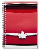 1965 Ford Thunderbird Emblem Spiral Notebook