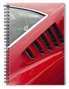 1965 Mustang Fastback Spiral Notebook