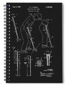 1965 Pivot Golf Putter Spiral Notebook