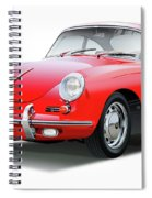 1965 Porshe 356 Sc Coupe Spiral Notebook