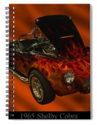 1965 Shelby Cobra Spiral Notebook