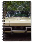 1965 Yellow Corvette Sting Ray  Spiral Notebook