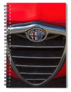 1966 Alfa Romeo Emblem Spiral Notebook