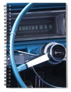1966 Chevrolet Impala Dash Spiral Notebook