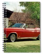 1966 Ford Fairlane 500 Convertible Spiral Notebook