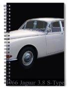 1966 Jaguar 3.8 S Type Spiral Notebook