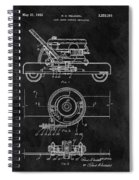 1966 Lawn Mower Patent Image Spiral Notebook