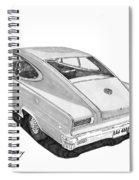 1966 Marlin By Nash Spiral Notebook