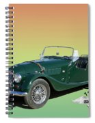1966 Morgan 4 Plus 4 Spiral Notebook