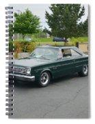 1966 Plymouth Belvedere Rapp Spiral Notebook
