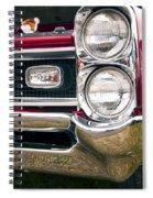 1966 Pontiac Gto Grill Spiral Notebook
