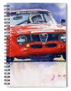 1967 Alfa Romeo Gta 1600 Groupe 5  Spiral Notebook