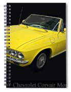 1967 Chevy Corvair Monza Spiral Notebook