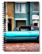 1967 Cougar Gt _hdr Spiral Notebook