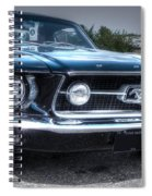 1967 Ford Mustang Spiral Notebook