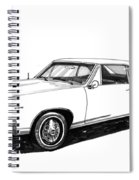 1967 Pontiac Gto Spiral Notebook