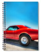 1967 S S Camaro_hdr Spiral Notebook