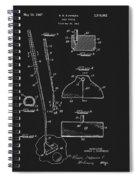 1967 Summers Golf Putter Patent Spiral Notebook