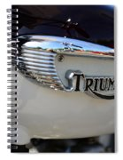 1967 Triumph Gas Tank 2 Spiral Notebook