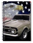 1968 Camaro Ss Tribute Spiral Notebook