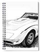 1968 Corvette Spiral Notebook