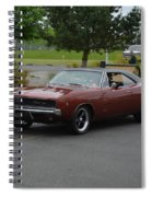 1968 Dodge Charger Grow Spiral Notebook