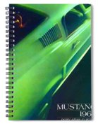 1968 Ford Mustang Spiral Notebook