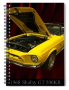 1968 Shelby Gt 500kr Spiral Notebook