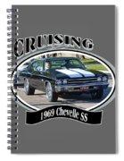 1969 Chevelle Ss Nuckolls Spiral Notebook
